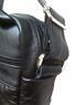 Кожаная мужская сумка ручного пошива, 4 отделения